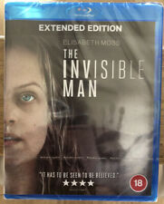 The Invisible Man Extended Edition Blu-Ray 2020 Horror Elisabeth Moss Sealed