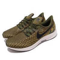 Nike Air Zoom Pegasus 35 GPX Olive Canvas Camo Men Running Shoes AT9974-301