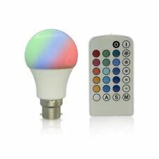 House Guru RGB Changement de couleur Ampoules à télécommande Baïonnette B22 A60