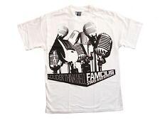 Famous Stars & Straps más fuerte luego infierno camiseta blanca (L)