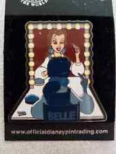 Disney WDW Cast Member Pin Party - Princess Belle - Back-Stage Pass LE Pin VHTF