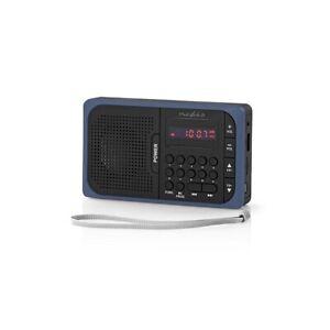 Tragbares UKW Radio mit Akkubetrieb + USB + UKW FM Empfänger - Mini Radio