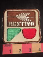 Vintage RESTIVO Advertising Patch (? Maybe A Bakery, Not Sure ) 89H5