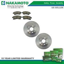 Nakamoto Front Premium Posi Ceramic Brake Pad & Rotor Kit for Chevy Sonic Cruze