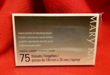 Mary Kay Beauty Blotters Oil-Absorbing Tissues, Full Size 75 Count, Sealed, Nip
