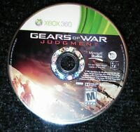 Gears of War Judgment Xbox 360 Microsoft Disc Only TESTED Rare