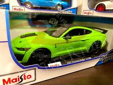 Maisto 1:18 Scale Special Edition Diecast Model - 2020 Ford Mustang Shelby Gt500