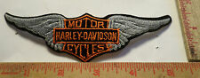 Vintage Harley wings patch collectible old motorcycle biker memorabilia emblem