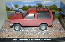 James Bond 007 Modellauto Collection N° 103 Ford Bronco II 1/43 - Quantum Trost