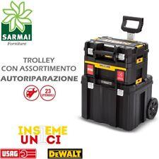 Trolley Dewalt TSTAK Assortimento Utensili Usag Autorip Avvitatore battente
