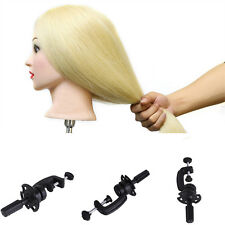 Salon Hair Mannequin Table Clamp Stand Hairdressing Training Head-Holder