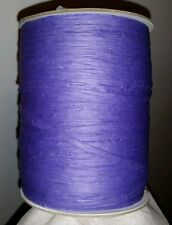 Purple Wraphia Roll 200 Yards / 600 ft, 100% Paper, Decor, Raffia