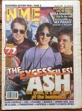 NME29/6/96 Ash cover, Kula Shaker, Elvis Costello, De La Soul, Gorky's, Placebo