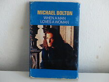 K7 Deux titres MICHAEL BOLTON When a man loves a woman COL6574884