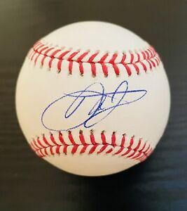 Dale Earnhardt Jr. Autographed OML Baseball NASCAR Racing Hall Of Fame/ JSA