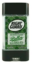 2 PACK Right Guard Best Dressed Collection Baller Antiperspirant Deodorant 4 oz