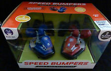 RC RADIO REMOTE CONTROLLED SPEED BUMPERS 2 CARS & RIDERS -  SOUND EFFECTS - NEW