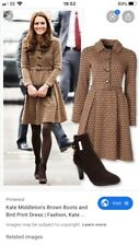 aquatalia boots 39, Uk 6 Brown Ankle Boots, Kate Middleton, Rare!
