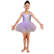 Lilac Purple Tutu Leotard Girls Dance Fancy Dress Ballerina Ballet Costume NEW