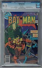 Batman #312 CGC 9.2 NM- Wp Vs. Calendar Man DC Comics Bronze Age 1979 Simonson