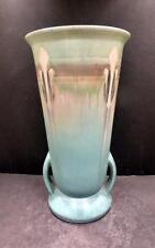 "Roseville Monticello Blue Vase - 565-10""- MINT"