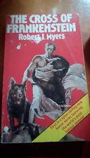 the cross of frankenstein robert j myers rare 1977 horror novel