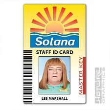 Plastic ID Card (TV Series Prop) - BENIDORM Solana Les Marshall. TV Series