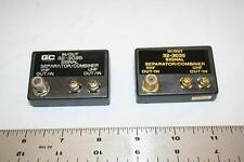Combiner Transformer Lot of 2 75/300 to 75 ohm VHF/UHF Seperator GC 32-3035 New