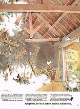 PUBLICITE  1974   XYLOPHENE  traitement du bois XYLOCHIMIE