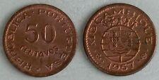 Mosambik / Mozambique 50 Centavos 1957 p81 unz.