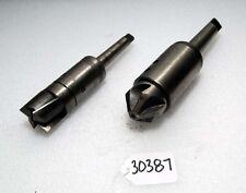 (2) Morse Taper Shank Cutters (Inv.30387)