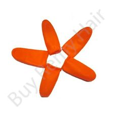 10 x Finger Cots For Hair Extension Bonding Perfect for rolling your glue bonds