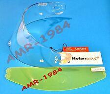 VISIERA ORIGINALE  NOLAN N103  + VISIERINA  PINLOCK ANTIFOG  CLEAR  VN103