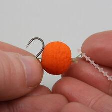 1000 X Pêche À La Carpe: Cheveux Rig Bouillette/Appât forme d'haltère arrêts