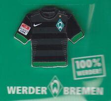 Werder Bremen  Pin / Pins: Trikot Pin - schwarz - ohne Sponsor - mit BL Patch