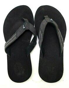 Sanuk Damen Stacker Yogamatte Schwarz Strand Wasser Tanga Sandalen Schuhe US 8