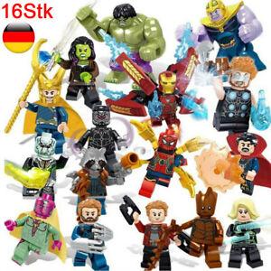 16Stk Marvel Minifiguren Gunuine Superhelden Black Panther Avengers Mini Figuren