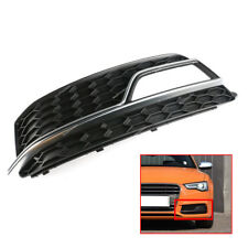 For AUDI S5 A5 13-15  Front Bumper Fog Light Grill Cover Trim Chrome-Left