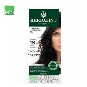 Herbatint Natural Hair Colour Black 1N 150ml
