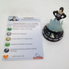 Heroclix Superman set Superman (Return) #057 Chase figure w/card!