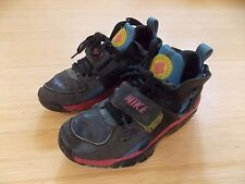 Nike Air 2007 Huarache Athletic Shoes 314589-081 Black Blue - Mens Size 8