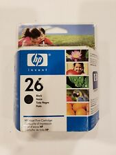 hp Inkjet print cartridge 26 Black Deskjet Deskwriter hp51626A Exp 2009