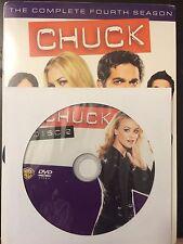 Chuck – Season 4, Disc 2 REPLACEMENT DISC (not full season)