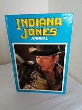 Indiana Jones Annual 1990 Vintage/Retro Film Hardback