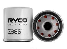 Ryco Oil Filter Z386 - BOX OF 10