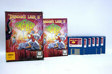 DRAGON'S LAIR 2 TIME WARP AMIGA FLOPPY READYSOFT GIOCO USATO USED 100%  62905