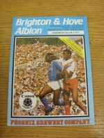 06/10/1984 Brighton And Hove Albion v Birmingham City  (folded). Thanks for view