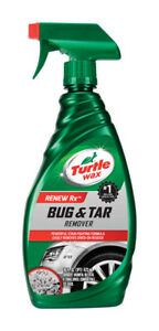 Turtle Wax Fiberglass Bug & Tar Remover 16oz Metal Paint Plastic Glass T520A