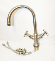 Axor Mixer Faucet with Taps Stainless Steel Washbasin Sink Kitchen Bathroom