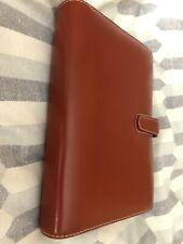 Filofax 'Cuban' Personal Organiser Italian Leather cover A5 size